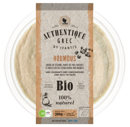 HOUMOUS TRADITIONNEL BIO