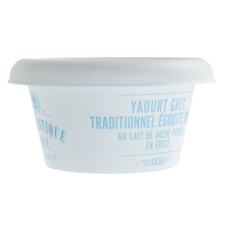 YAOURT GREC TRADITIONNEL EGOUTTE 0% M.G